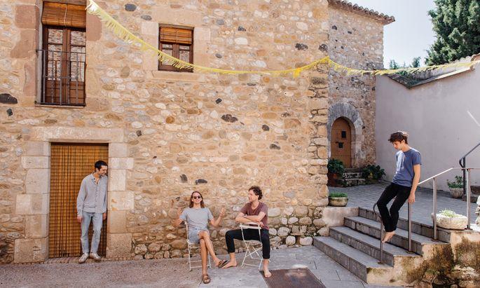 Eine Band für die Nachfahren der Generation Y? AnnenMayKantereit in katalonischem Idyll.