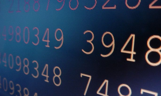 Datenbestand - stored data