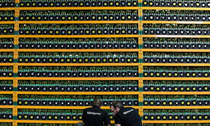 Bitcoin-Miner in Kanada