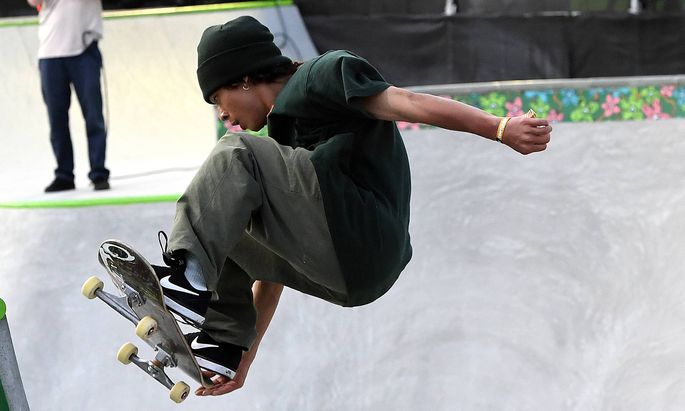 Symbolbild Skateboard.