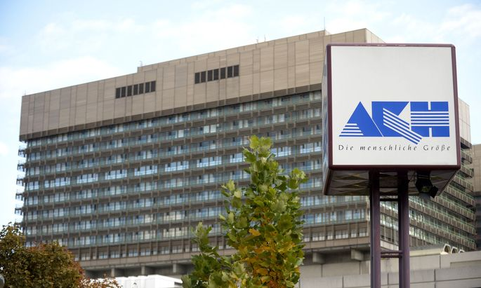 Archivbild vom AKH Wien.