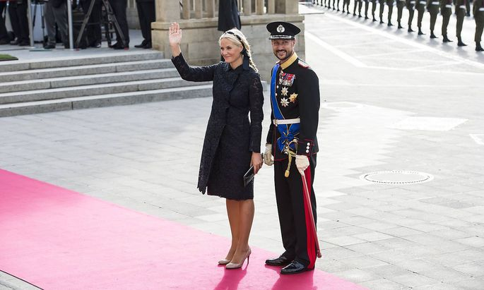 LUXEMBOURG LUXEMBOURG Crown Princess Mette Marit of Norway and Crown Prince Haakon of Norway pi