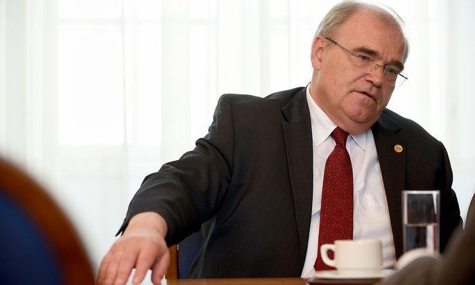 Wolfgang Brandstetter, Strafverteidiger, Rechtsprofessor und Mitglied des Verfassungsgerichtshofs