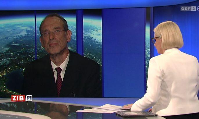 Heinz Faßmann nahm bei Lou-Lorenz Dittlbacher den Eltern nicht ihre Sorgen.