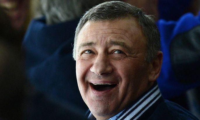 Einst Putins Judo-Partner, jetzt Oligarch: Arkadi Rotenberg