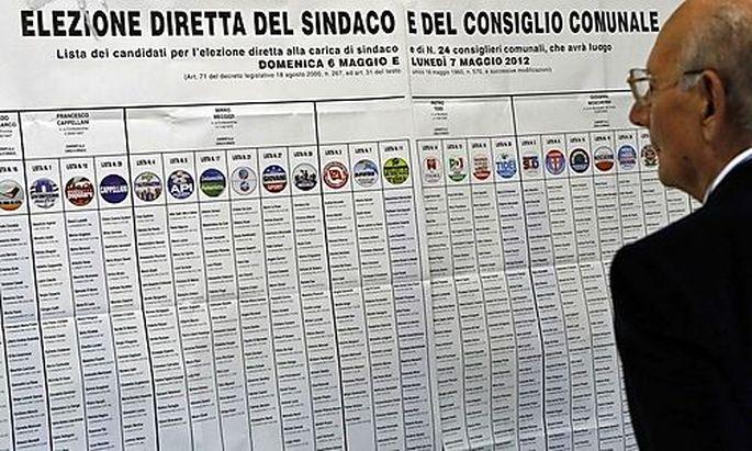 Italien: Debakel für Berlusconi-Partei bei Kommunalwahlen