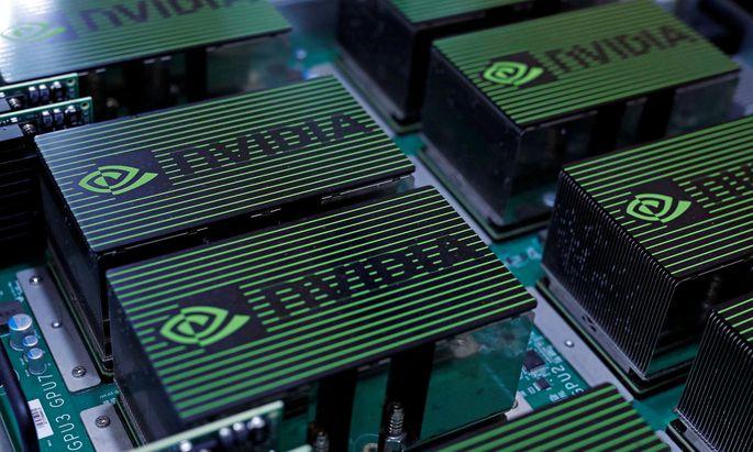 Nvidia designt Prozessoren. Die Aktie ist der erfolgreichste Branchenwert.
