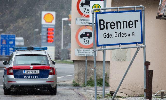 """Am Brenner gibt es derzeit """"schengengemäße"""" Kontrollen."""