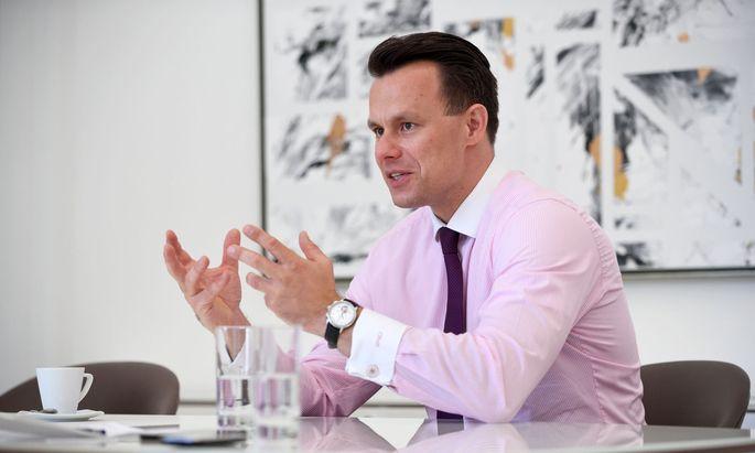 Börsechef Christoph Boschan