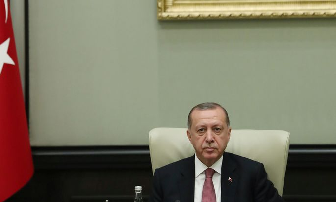 Präsident Recep Tayyip Erdoğan.