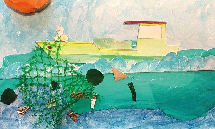 """Siegreich war das Projekt """"Circular Nets"""" einer Schule in Lissabon. Auch ein Lösungsansatz wurde entwickelt."""