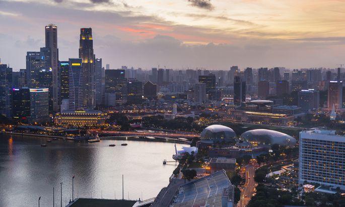 Singapur hat sich an die Spitze gesetzt.