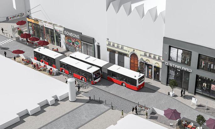 Die doppelte Führung durch die Neubaugasse, die die Wiener Linien vorgeschlagen haben, will der Neubauer Bezirksvorsteher Markus Reiter nicht.