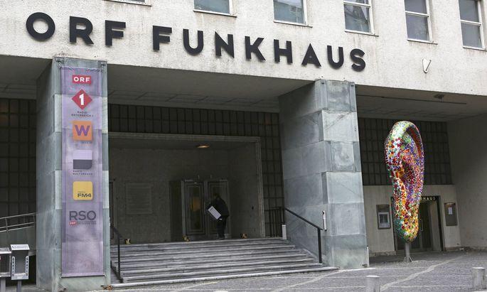 ORF Funkhaus in der Argentinierstraße in Wien.