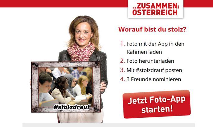 Screenshot #Stolzdrauf Webseite