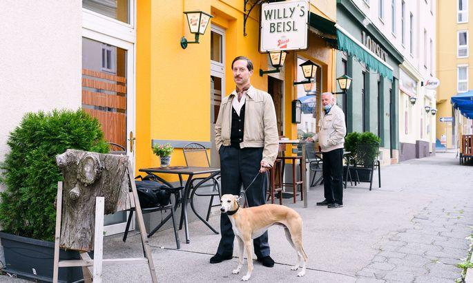 Täglich spaziert Zeisler mit seinem Hund an den Beisln vorbei, die Teil der Tour sind.