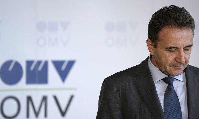 OMV-Generaldirektor Gerhard Roiss