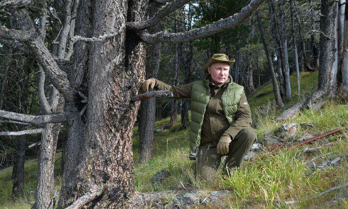 Wladimir Putin gibt gern den Naturburschen. Dass er sich nun dem Pariser Klimaschutzabkommen angeschlossen hat, liegt aber nicht nur an der Ökologie.