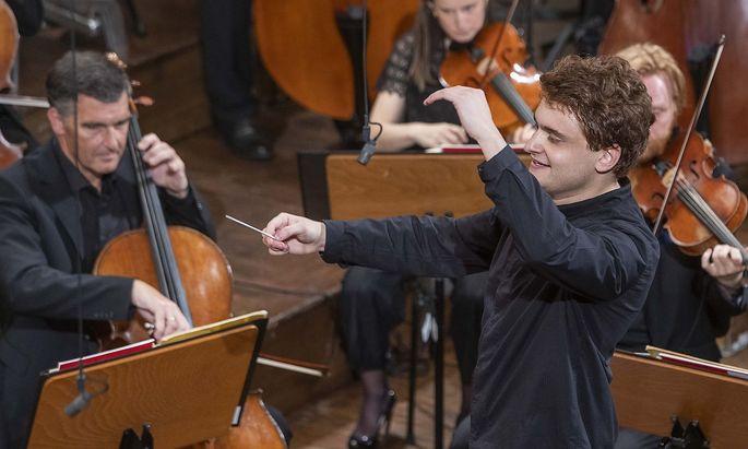 Joel Sandelson überzeugte die Jury des Herbert von Karajan Young Conductors Awards.