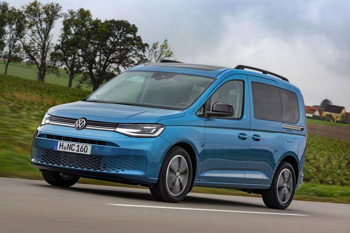 Die neue Generation des VW Caddy basiert auf dem Golf. .