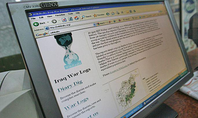 Wikileaks kuendigt neue Enthuellung
