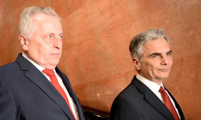 Hofburg-Wahl: Hundstorfer einstimmig nominiert