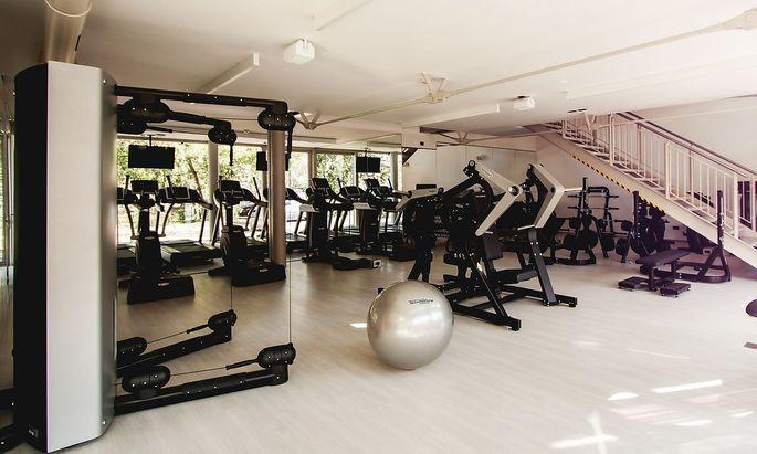 Gemeinschaftsraum der gehobenen Art: Fitnessraum.