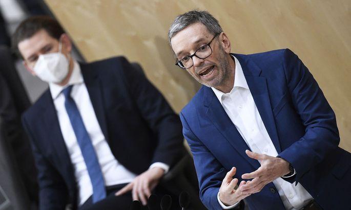 Die FPÖ zeigt bislang wenig Bereitschaft zum Tragen von Masken.