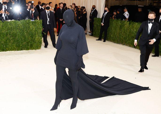 Kim Kardashian auf der Met Gala