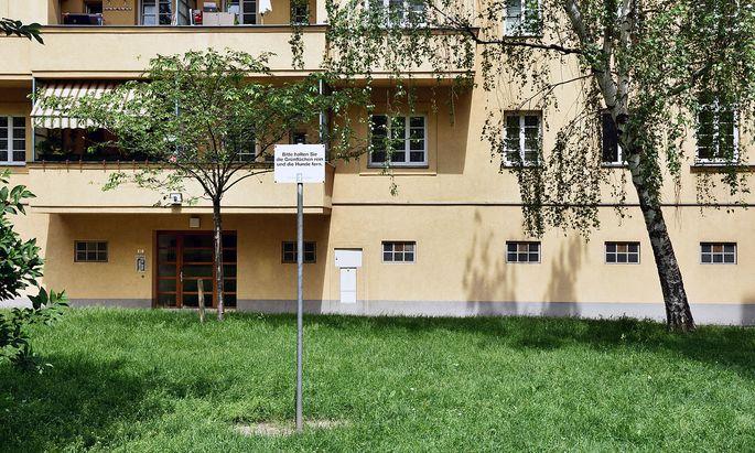 Der Gemeindebau in Wien-Döbling, in dem das Kind getötet wurde.
