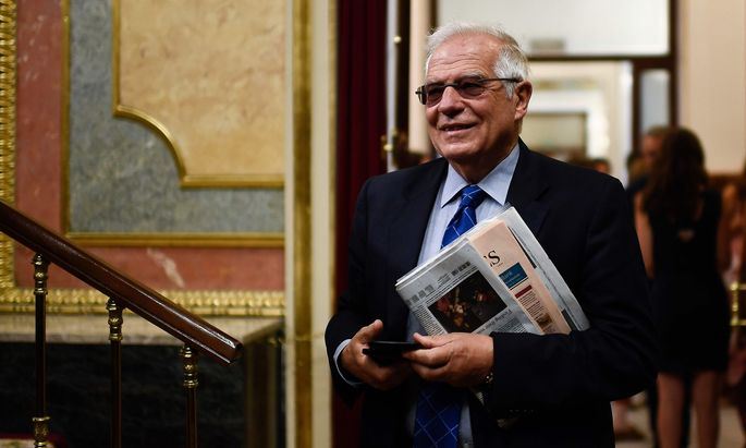 Spaniens Außenminister Josep Borrell.