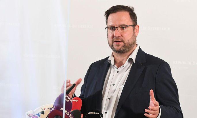 FPÖ-Fraktionsführer Christian Hafenecker