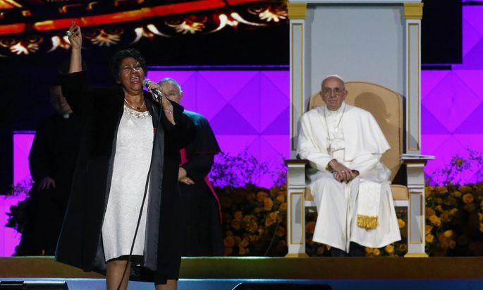 USA POPE FRANCIS VISIT