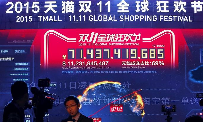 Milliarden für Alibaba