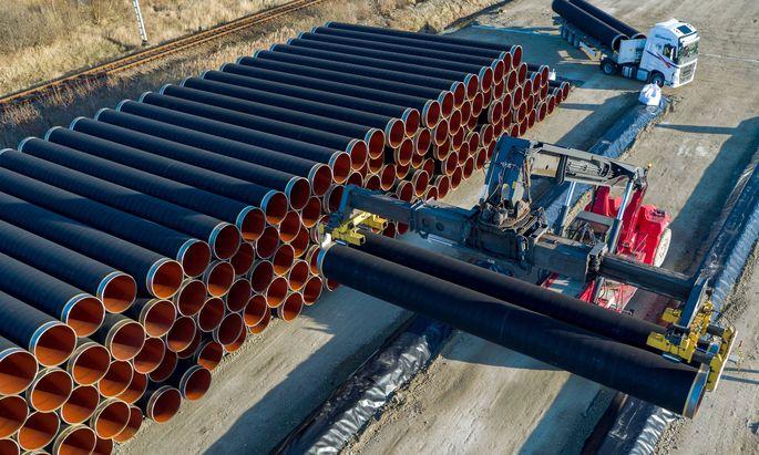 Ostsee-Erdgastrasse Nord Stream 2