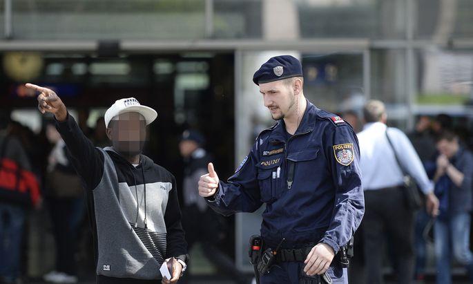 Polizeieinsatz am Praterstern (Archivbild).