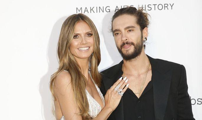 Am roten Teppich zeigen sich Heidi Klum und Tom Kaulitz seit einiger Zeit schon zusammen