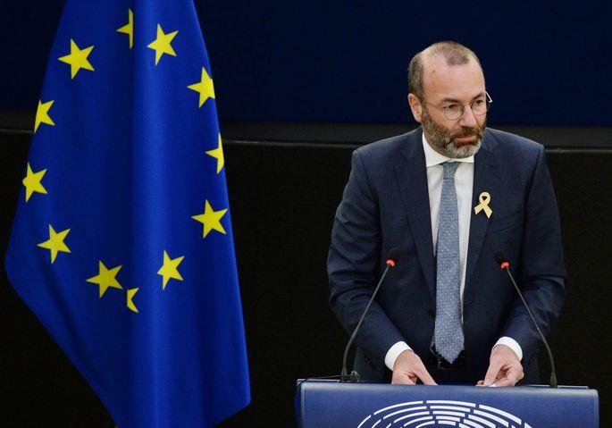 EVP-Fraktionschef Manfred Weber