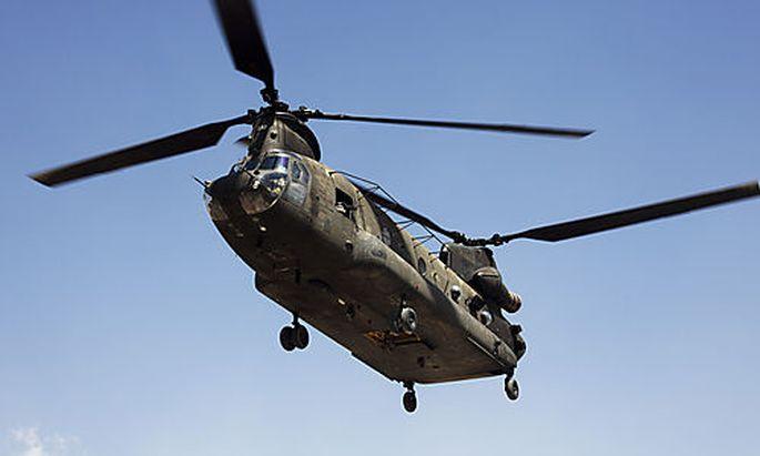 ISAF-Helikopter in Afghan - Taliban sprechen von Abschuss