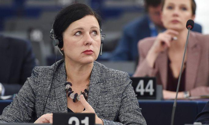 EU-Jusitzkommissarin Věra Jourová