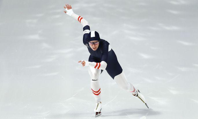In Japan ist Eisschnellläuferin Vanessa Herzog siegreich in die Saison gestartet