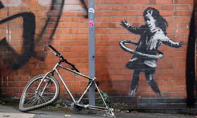 A new Banksy artwork has appeared in Rothesay Avenue, Nottingham