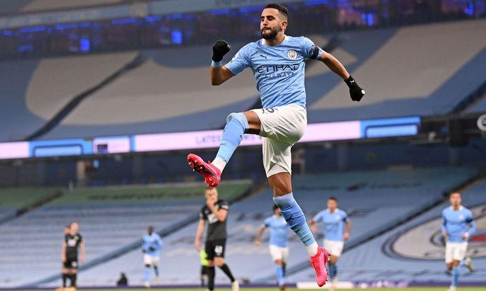 Karriere zwischen Banlieu und Königsklasse: City-Erfolgsgarant Riyad Mahrez.
