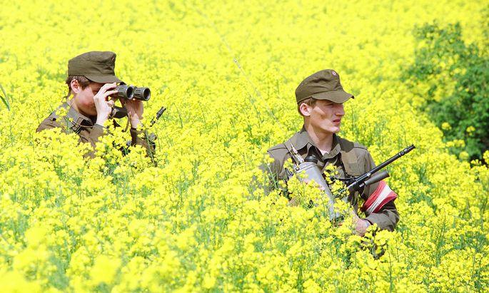 THEMENB21 Jahre lang war das Heer ab 1991 im Grenzeinsatz. Seit 2015 sind wieder Soldaten im Assistenzdienst.LD: BUNDESHEER-ASSISTENZEINSATZ