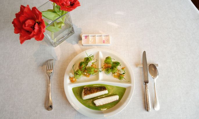Der Wandel des Seniorentellers: nun mit Essen vom Haubenkoch.
