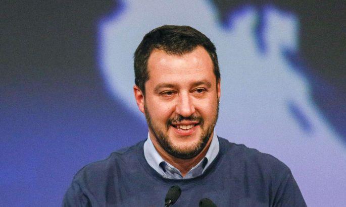 Lega-Chef Matteo Salvini.