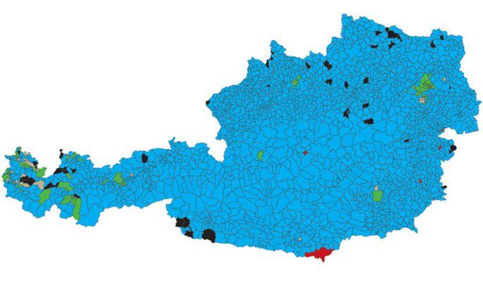 Blaues Österreich.
