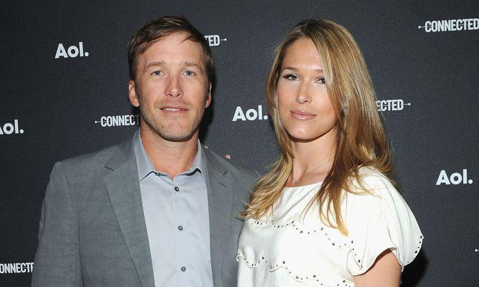 Bode Miller und seine Frau, Morgan Beck Miller.