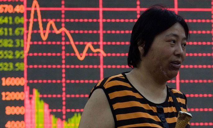 Chinas Wirtschaft geht Luft