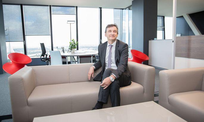 Martin Tiani, Mitgründer des Start-ups Grapevine World, will das Gesundheitssystem auf noch digitalere Füße stellen.